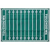 Camco 42862 Football 8x16 Outdoor Patio Mat-Mold and Mildew Resistant, Easy to Clean, Perfect for Picnics, Cookouts, Camping, and The Beach (8' x 16)