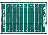 Automotive : Camco 42862 Football 8x16 Outdoor Patio Mat-Mold and Mildew Resistant, Easy to Clean, Perfect for Picnics, Cookouts, Camping, and The Beach (8' x 16)