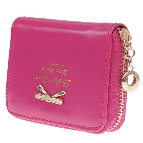 Women Leather Wallet Purse Holder