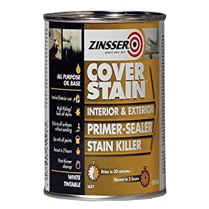 Zinsser Zincsp500 500 Ml Cover Stain Primer Finish Paint