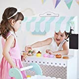 Teamson Kids - My Dream Wooden Play Bakery Stand