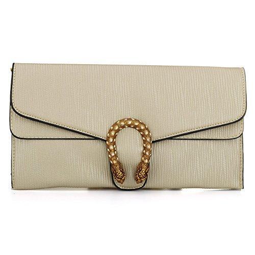 IBELLA Crossbody with Card Slots Handbag Clutch Wallets Purses Phone Bag Women Gold Leather rwRUqpr