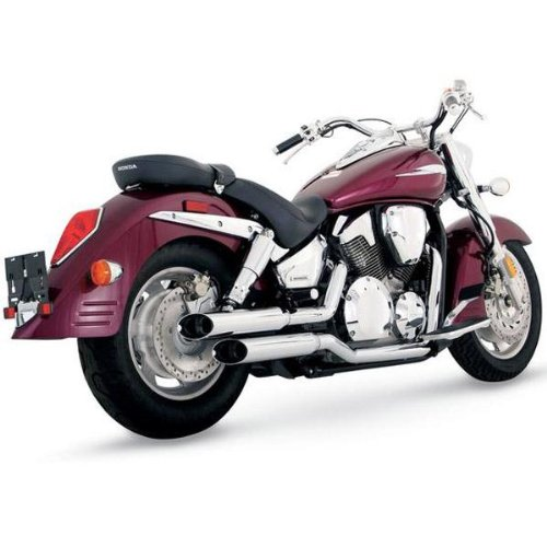 System Exhaust Cruzers Hines (05 YAMAHA XVS650A: Vance & Hines Cruzers Exhaust (49 State Models))