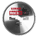 MK Morse  CSM972NAC Metal Devil Circular Saw Blade, Aluminum Application, 9-Inch Diameter, 72 TPI, 1-Inch Arbor