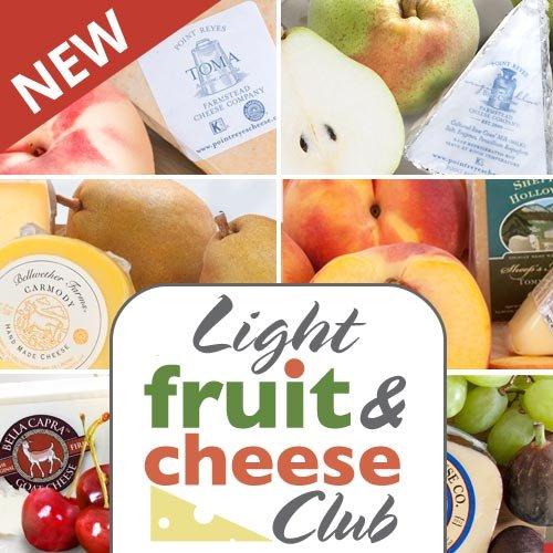 Golden State Fruit Monthly Fruit and Cheese Club (Light Version) - 6 Month Club by Golden State Fruit