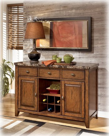 Amazon.com - Lacey Brown Dining Room Server - Buffets & Sideboards