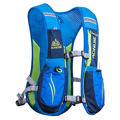 AONIJIE Running Hydration Pack 5.5L Backpack Bladder for Hiking Cycling Running Race
