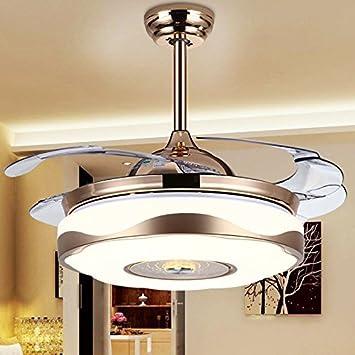 MOMO Personalisierte Dekorative Beleuchtung Led Fan Lampe, Wohnzimmer  Esszimmer Kronleuchter, Einfache Moderne Unsichtbare Deckenventilator