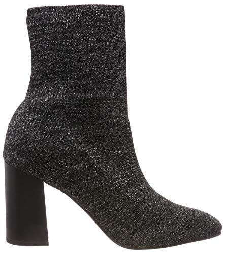 Femme Noir Bianco Knit 105 black Bottines Boot HOxCxZt