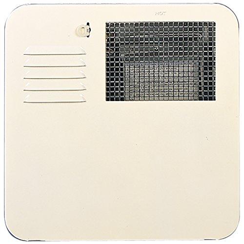 (Suburban 6261ACW Radius Corner 4 and 6 Gallon Water Heater Door-Colonial White)