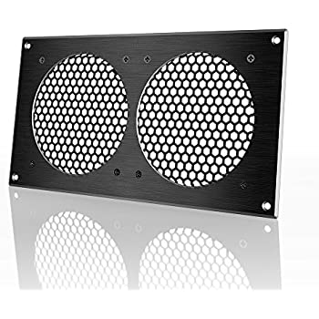 Attrayant AC Infinity Ventilation Grille, For PC Computer AV Electronic Cabinets,  Also Mounts Two 120mm