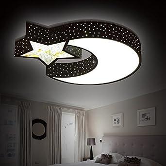 LED Decke Lampe Kinder Zimmer Kronleuchter Kreativ Zu Wärmen, Den Mond Und  Die Sterne Für