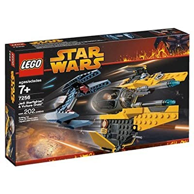 LEGO Star Wars Jedi Starfighter and Vulture Droid: Toys & Games