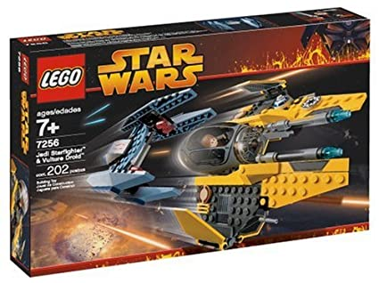 Amazon Lego Star Wars Jedi Starfighter And Vulture Droid Toys