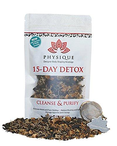 15 Jours Colon Cleanse Detox Thé| Réduire le Ballonnement | Passoire GRATUITEMENT