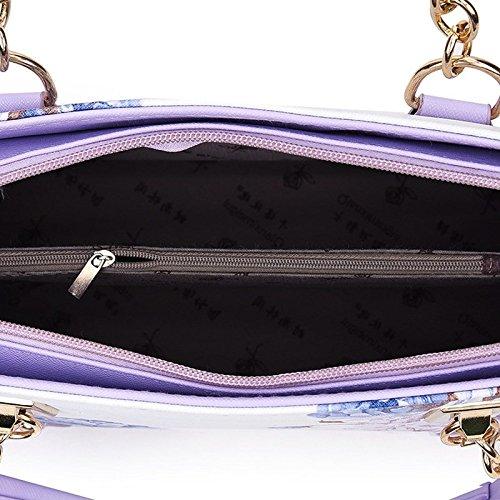 Sac Bandoulière Pour à à Pour à Sac Sac Imprimé Femme Femme à Sac KYOKIM Purple Pour Main Main Main pxPwAqRw8F