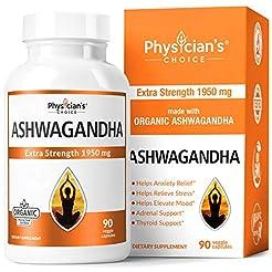 Ashwagandha 1950mg Organic Ashwagandha R...