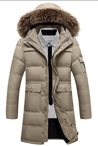Quilted Hooded Long Down Jacket - 9
