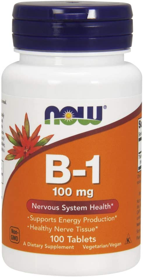 Now Foods B1-100 mg - 100 Tablets