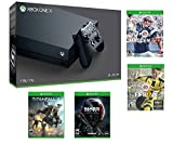 Xbox One X Super Value Bundle - Includes - Xbox One X 1TB Console, Controller, Madden NFL 17, Fifa 17, Mass Effect Andromeda and Titanfall 2
