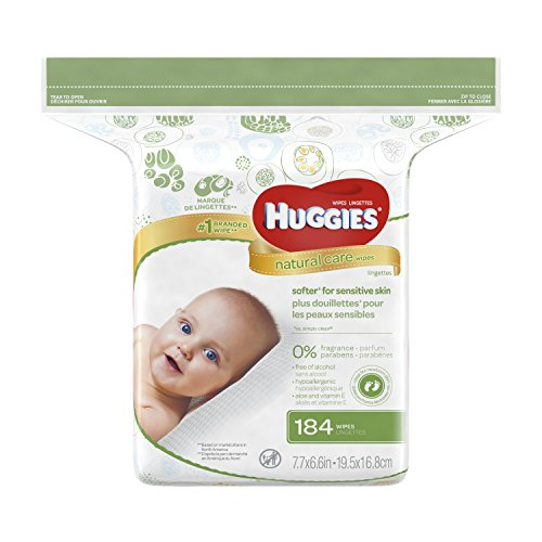 Huggies Natural Fragrance Wipes Packaging
