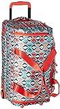 Vera Bradley Lighten up Foldable Rolling Duffel, Polyester, Go Fish