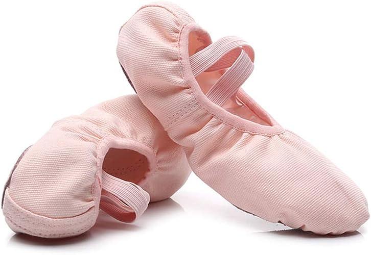Canvas Ballet Dance Slippers for Girls//Women
