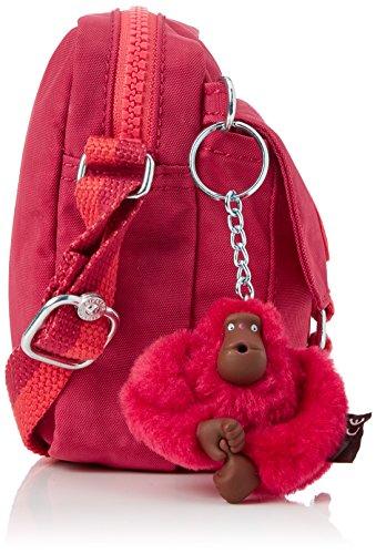 Pink Mujer Kipling C Bandolera Bolsos Teddy S Iaka Duo punch 04p0q