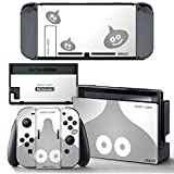 Ci-Yu-Online VINYL SKIN [NS] Dragon Quest Silver Slime STICKER DECAL COVER for Nintendo Switch Console and Joy-Con Controllers For Sale