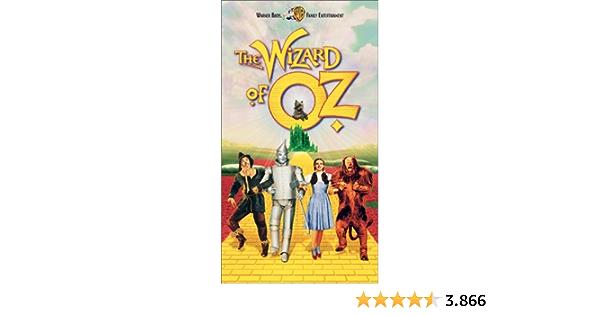 The Wizard of Oz [USA] [VHS]: Amazon.es: Cine y Series TV