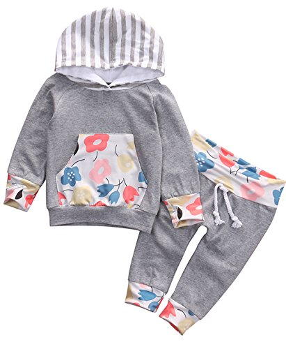 Flowers Sleeve Hoodie Pocket Outfits product image
