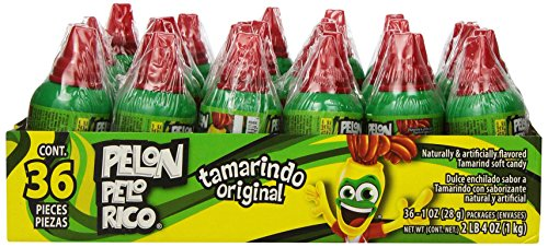 PELON PELO RICO Tamarind Candy (Pack of 36) ()