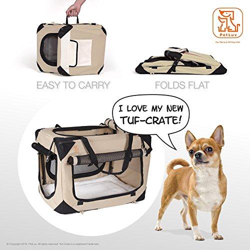Soothing Happy Dog Medium Soft Sided Dog Crate Pet