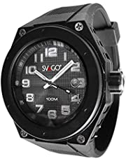 SVAGO Reloj Análogo, Color Negro, Pequeño