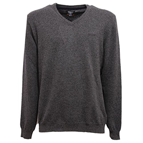 Uomo Lana V Sweater Maglione Woolrich Wool Men Grigio Grey 1169v neck tpT5xqwT