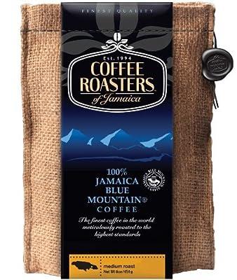 Coffee Roasters of Jamaica - 100% Jamaica Blue Mountain Whole Bean Coffee (3lbs)