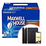 Maxwell House House Blend K-Cup Coffee Pods, 150 ct Box + FREE GIFT - PRODUCTIVITY PLANNER - Attain Your Dreams! (150 ct)