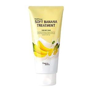 [WELCOS] Food Recipe Soft Banana Treatment 300ml/10.1fl.oz Hair Treatment Hair Care Product Moisturizing Banana Scent