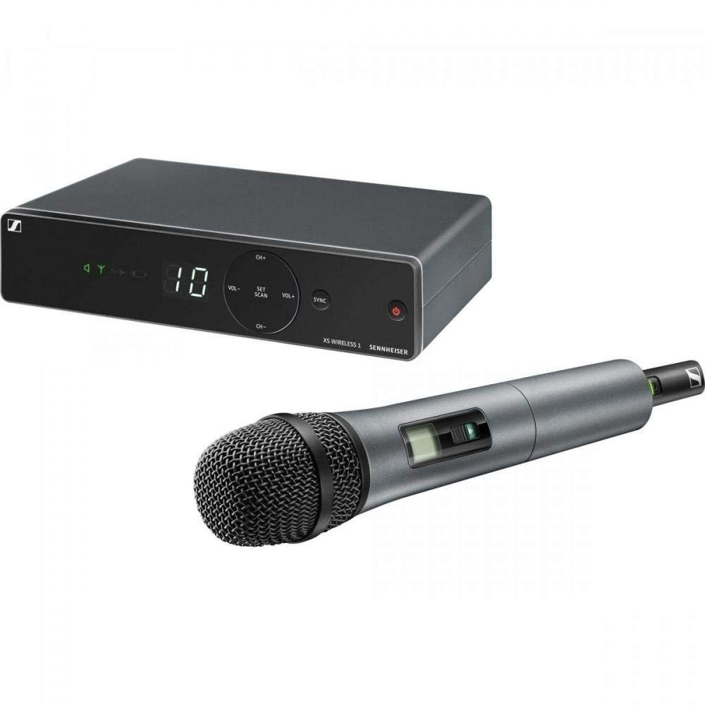 Sennheiser XSW 1-825-A Vocal Wireless Microphone, A Range 548-572 MHz by Sennheiser Pro Audio