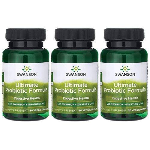 - Lee Swanson Signature Line Ultimate Probiotic Formula 3-Pack 66 Billion Cfu 3-30 ct bottles Veg Drcaps
