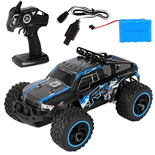 Thrivinger RC Car Off Road Remote Control Car, 2.4Ghz Anti-Interference / 4×4 Off Road Monster Remote Control Truck…