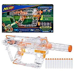 Evader-Modulus-Nerf-Motorized-Light-Up-Toy-Blaster-Includes-12-Official-Nerf-Darts-12-Dart-Clip-Light-Up-Barrel-Extension-Multicolor-Amazon-Exclusive