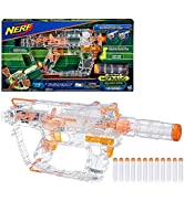 Evader Modulus Nerf Motorized Light-Up Toy Blaster Includes 12 Official Nerf Darts, 12-Dart Clip,...