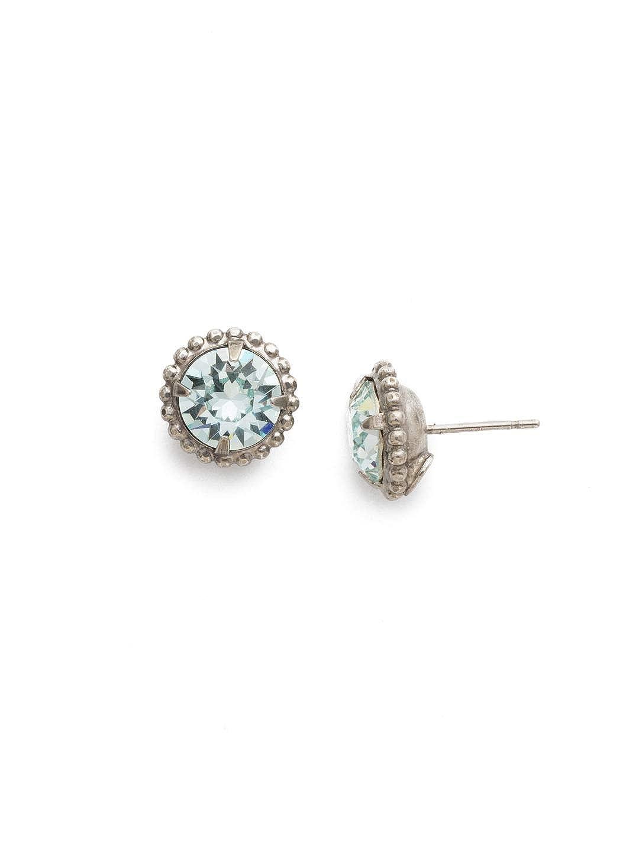 2431233d3 Amazon.com: Sorrelli Simplicity EBY38ASLAQ Stud Earring - Essentials, Blue,  0.5: Jewelry