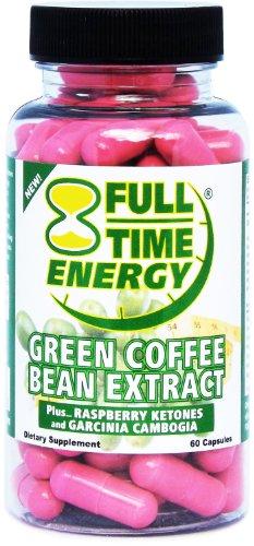Полный рабочий день Energy Pure Green Coffee Bean Extract Plus Малина Кетоны и гарцинии камбоджийской полный комплекс Capsules- похудеть быстро и сжигать жир с этими Потеря Экстремальные диеты для похудения Таблетки - Лучший Природные жиросжигатели и допо