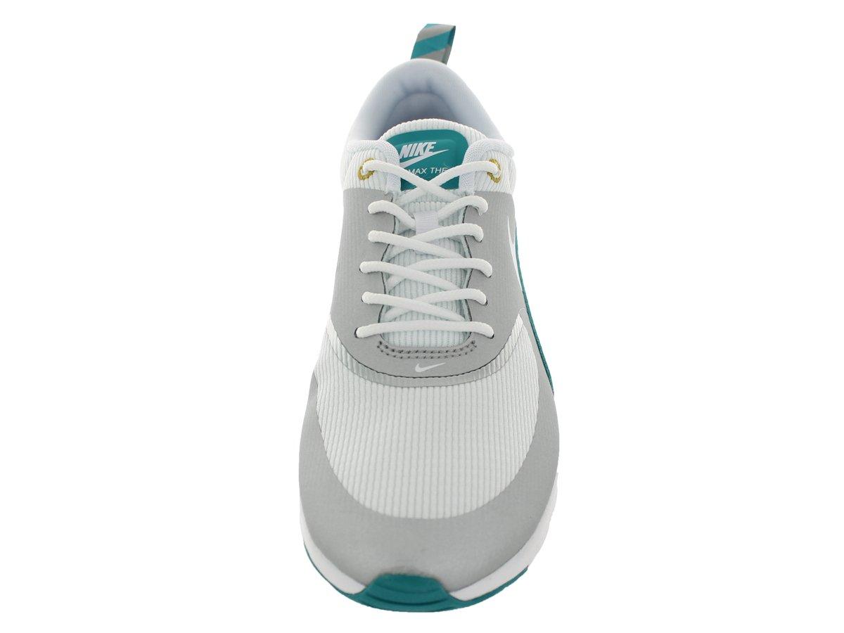 Nike Air Max Slvr/Weiß-trb Thea Damen Sneakers Mtllc Slvr/Weiß-trb Max Grn-drk C 9e5470