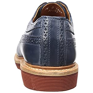 Allen Edmonds Men's Shannon Drive Oxford, Navy Leather, 10 3E US