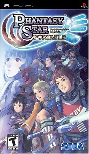 Phantasy Star Portable - Sony PSP (Phantasy Star Portable 2)