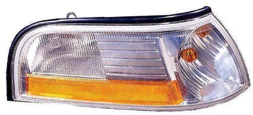 Depo 331-1564R-US1 Mercury Grand Marquis Passenger Side Replacement Parking/Side Marker Lamp Unit without - Side Mercury Marker