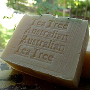 Australian Tea Tree Soap Handcrafted All Natural with Cocoa Butter